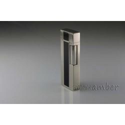 Αναπτήρας Sarome Silver-Black Πέτρας