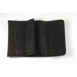 Καπνοθήκες Τεχνόδερμα Cig-Access Μαύρες 508-27