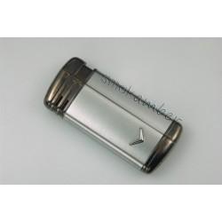 Αναπτήρας Ronson Ασημί  04HOL03 Πλατίνας