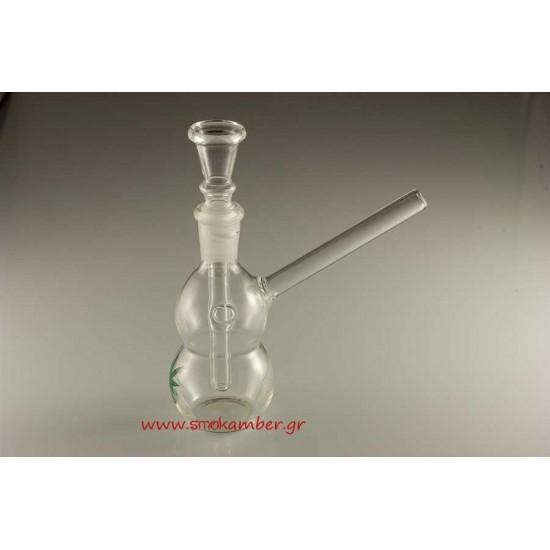 Amsterdam Leaf Glass Bong