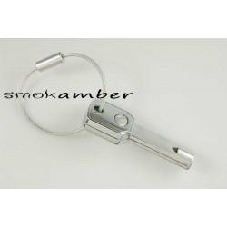 Μπρελόκ Κλειδί με Led Φακό KR-15-40/CH