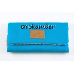 Καπνοθήκη Υφασμάτινη Τζιν Mestango Τυρκουάζ