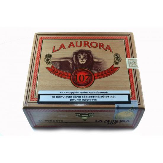 La Aurora Robusto 107 box of 21
