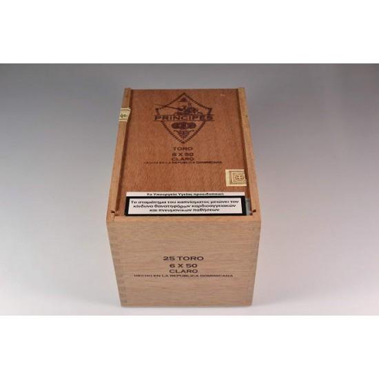 Principes Toro Claro box of 25
