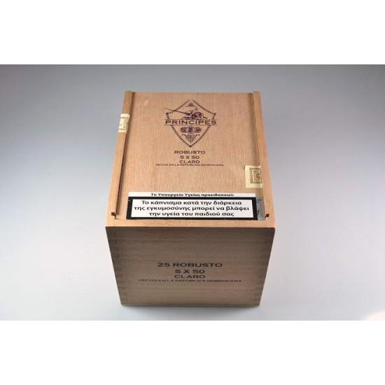 Principes Robusto Claro box of 25