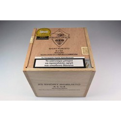 Principes short robusto maduro box of 25