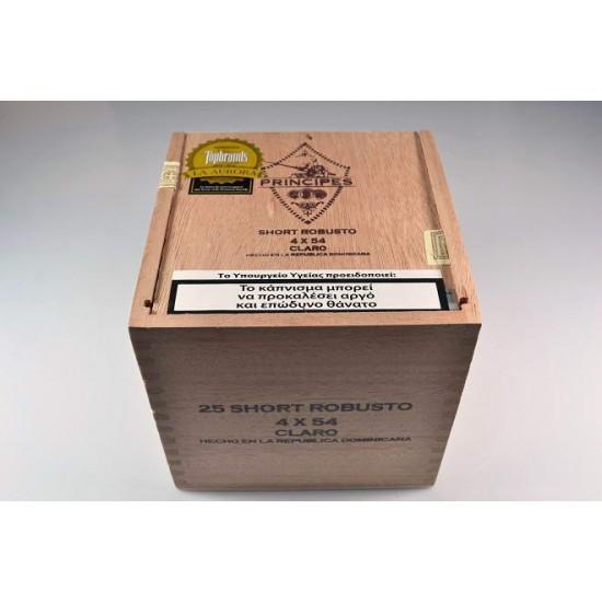 Principes short robusto claro box of 25