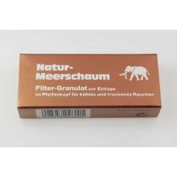 Φίλτρα Πίπας Καπνού Natur - Meerschaum Granulat