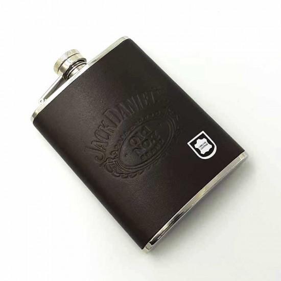 Φλασκί Δερμάτινο Jack Daniel's