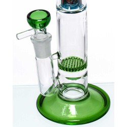 Γυάλινο bong Grace Glass Green G1663G
