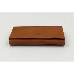 Καπνοθήκη Δερμάτινη Φάκελος Cig-Access Coffee Brown