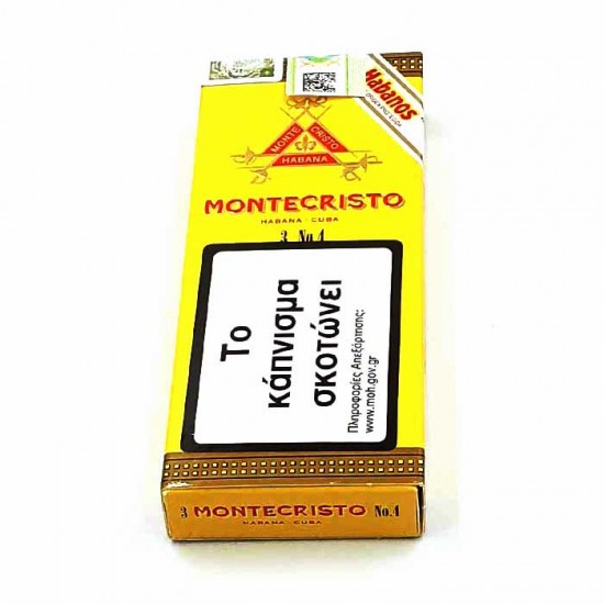 Montecristo No4 box of 3