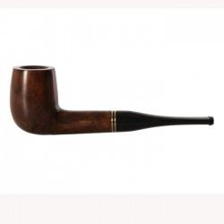 Πίπα Καπνού De Luxe Καφέ Ίσια