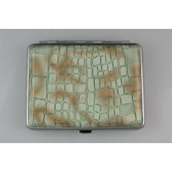 Ταμπακιέρα Τεχνόδερμα Πράσινη
