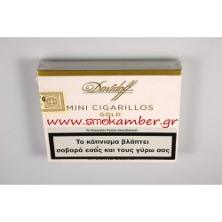 DAVIDOFF MINI CIGARILLOS GOLD 20S