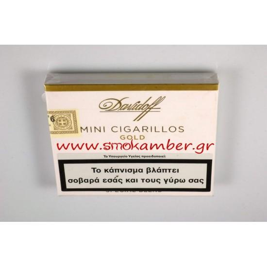 DAVIDOFF MINI CIGARILLOS GOLD 20S