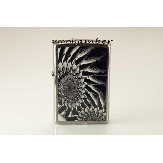 Zippo Metal Abstract 29061