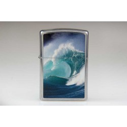 Zippo 28178 Ocean Wave Polished Chrome